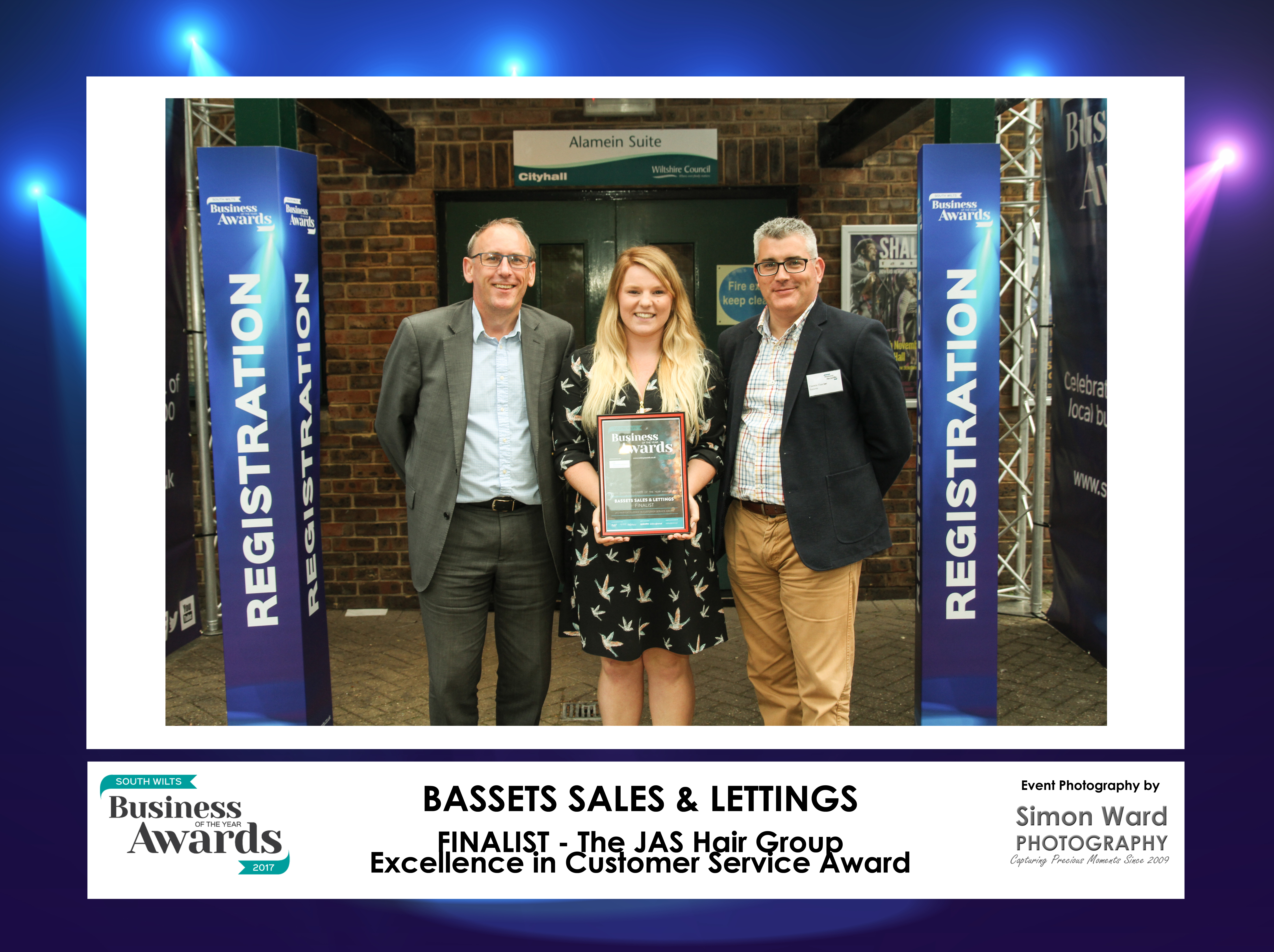 Bassets Sales & Lettings Customer Service Award