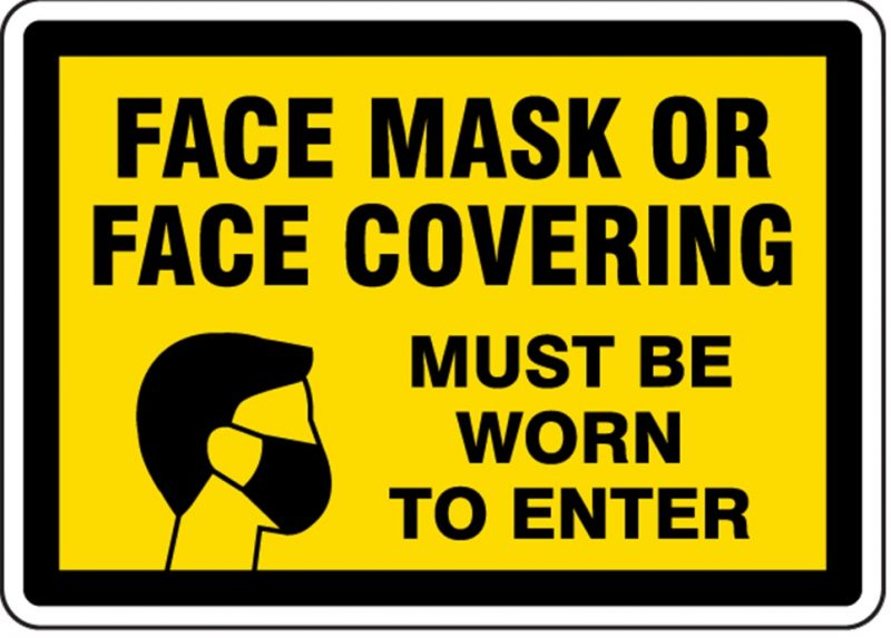 New Guidelines 24th July 2020 – Face Coverings